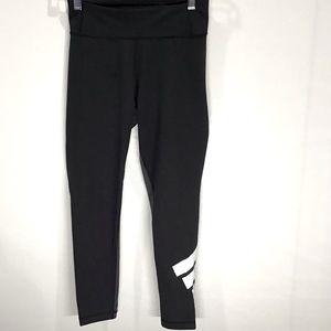 Adidas black and grey women's leggings